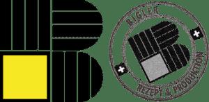 Logo Bigler mit Stempel