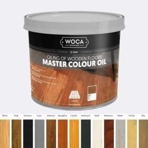 WOCA Meister Colouroel mit Farbpalette