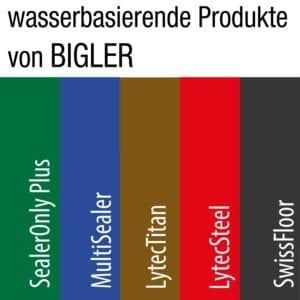 Bigler Farben wasserbasierende