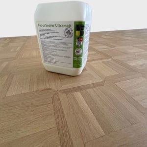 FloorSealer Ultramatt auf ultramatt lackiertem Boden
